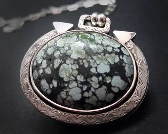 Stabilized Himalayan Sage Green Turquoise