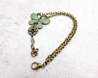 Butterfly bracelet, boho bracelet, boho jewelry