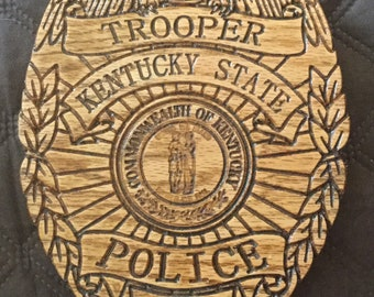 Kentucky State Trooper Badge