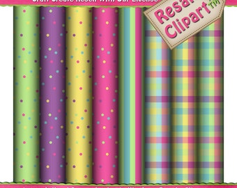 Birthday Fun Background Scrap 1 Digital Papers (Digital Download)