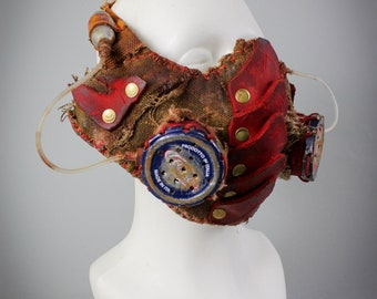 Mad Max Accessories - Fallout Accessories - Cosplay Mask - Motorcycle Mask - Fallout Mask - Burning Man Costumes - Festival Costumes