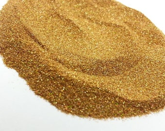 Ultra Fine .004 Spanish Doubloon Holographic Glitter - Solvent Resistant - .1mm