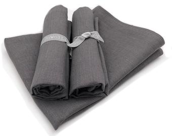"""2 tea towels / diner towels / kitchen towels linen """"Sheep"""" (20"""" x 27,6""""),  Gift"""