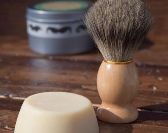 Spearmint Eucalyptus Shave Soap - Shave Soap- Mens Shaving soap- Shaving Bar - Men's Gift - Gift for Him - Wet Shave Soap - Men's Soap