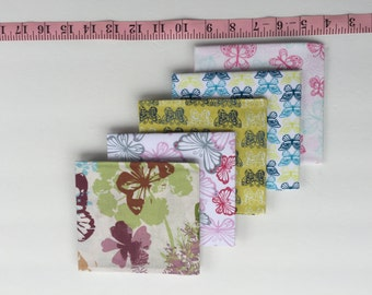 Butterfly Fat Quarters 5 piece Bundle