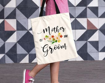 Mother of the Groom Gift from Son, Mother of the Groom, Wedding Tote Bag