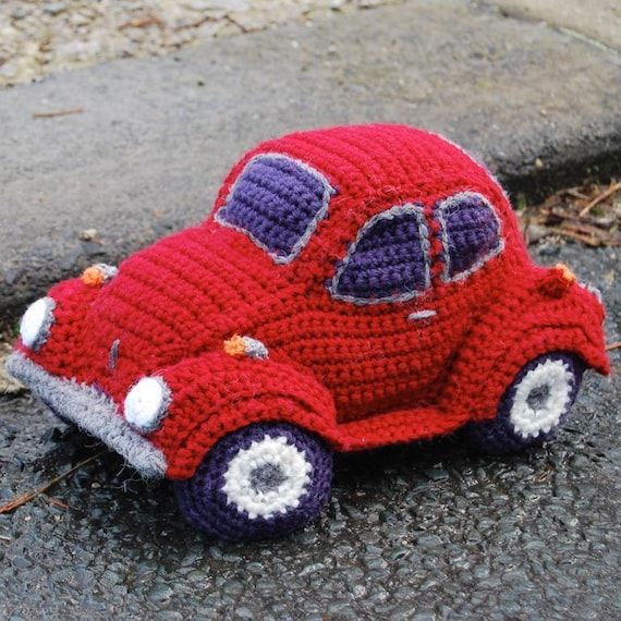 Pdf Crochet Pattern For Hug A Bug Cuddly Car Based On The Vw Beetle