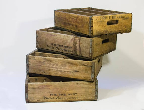 Vintage FRANKS SODA Crate Philadelphia PA Its The Best Fruit