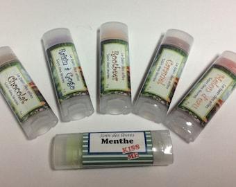 Natural moisturizing lip care