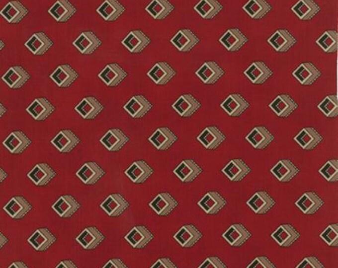 Community Cubes Red - 1/2yd