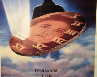 Movie Poster, The Seventh Sign, 1988 with Demi Moore.