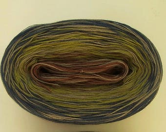GLOBAL MEDLEY -- Sport Weight -- Color Changing Cotton yarn (100 gr /320 yards)