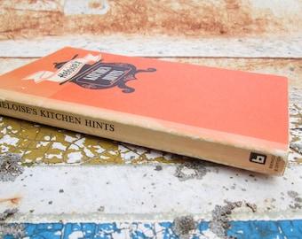 Heloise's Kitchen Hints Vintage Paperback Book 1967 Instruction DIY