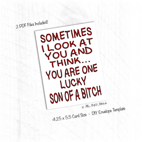 printable funny anniversary cards for husband
