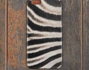 Zebra Skin Phone Case - PC054 | Personalised Gift | Unique Gift | Phone Case | iPhone | Samsung