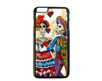 iPhone Case Choose Your Case Size Skeleton Couple #123