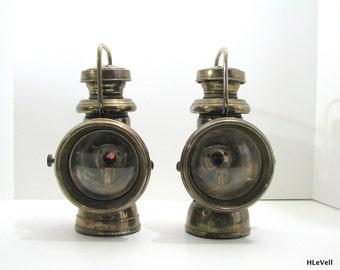 Duco Head Lamps, Car Pre War I Antique Head Lights