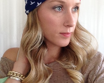 USA Turban Headband - Baby USA Turban headband - USA headband - American Flag Headband - America headband  - 4th of July Headband