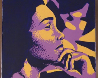 Pop Art Painting - Coretta Scott King