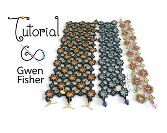 TUTORIAL Collection Night Sky, Kepler's Star and Other Beaded Angle Weaves