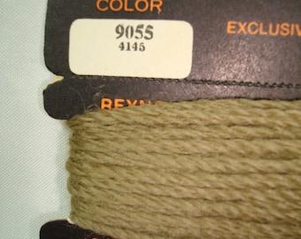 1970s REYNOLDS Needlepoint Crewel 100 Percent Pure Virgin Wool Moth Proof Three Strands Wool Yarn.