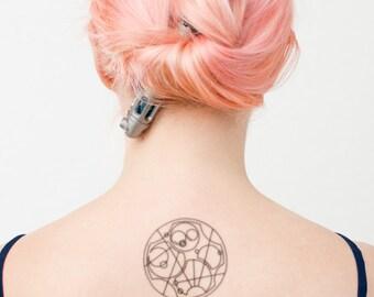Bow Ties are Cool Gallifreyan Temporary Tattoo