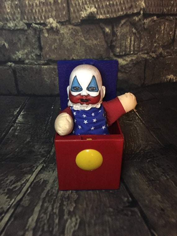 Pogo The Clown Serial Killer In A Cube John Wayne Gacy Jack In The Box Killer Couture Undead Legend Biohazard Baby