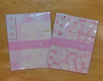 Japanese Washi letter set (Sakura 2types)