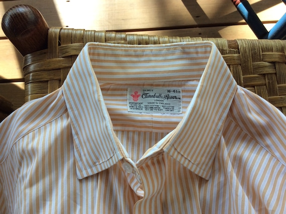 TURNBULL & ASSER Dress Shirt - 16/41 - Wear It to Your Office or with Your Jeans- small RllUC6YL