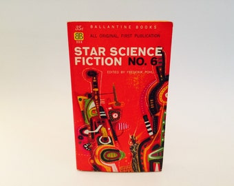 Vintage Sci Fi Book Star Science Fiction No. 6 Edited by Freerik Pohl 1959 Paperback Anthology