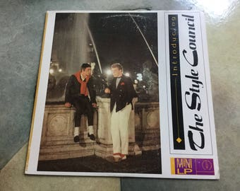 Style Council Introducing Mini Lp Polydor Records 1983 Paul Weller