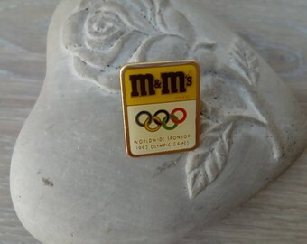 MMS 1992 Olympic Games badges