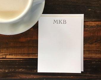 Custom Letterpress Notecards - Cochin Open