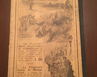 1895 P Leyssenne, La Premiere Annee, D' Arithmetique, French Book very rare