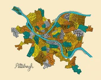 Pittsburgh Neighborhoods in Color