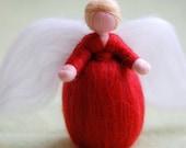 Red Angel, Wool fairy tal...