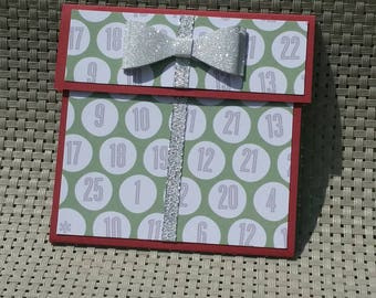 Personalized Christmas Gift Card Holder - Also works great with money! (GC0070)