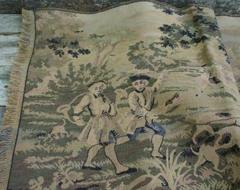 Vintage European Tapestry / Long Table Scarf