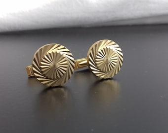Vintage Gold Plated Cufflinks