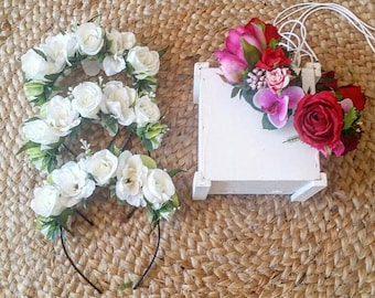 Flowercrowns for bridal party