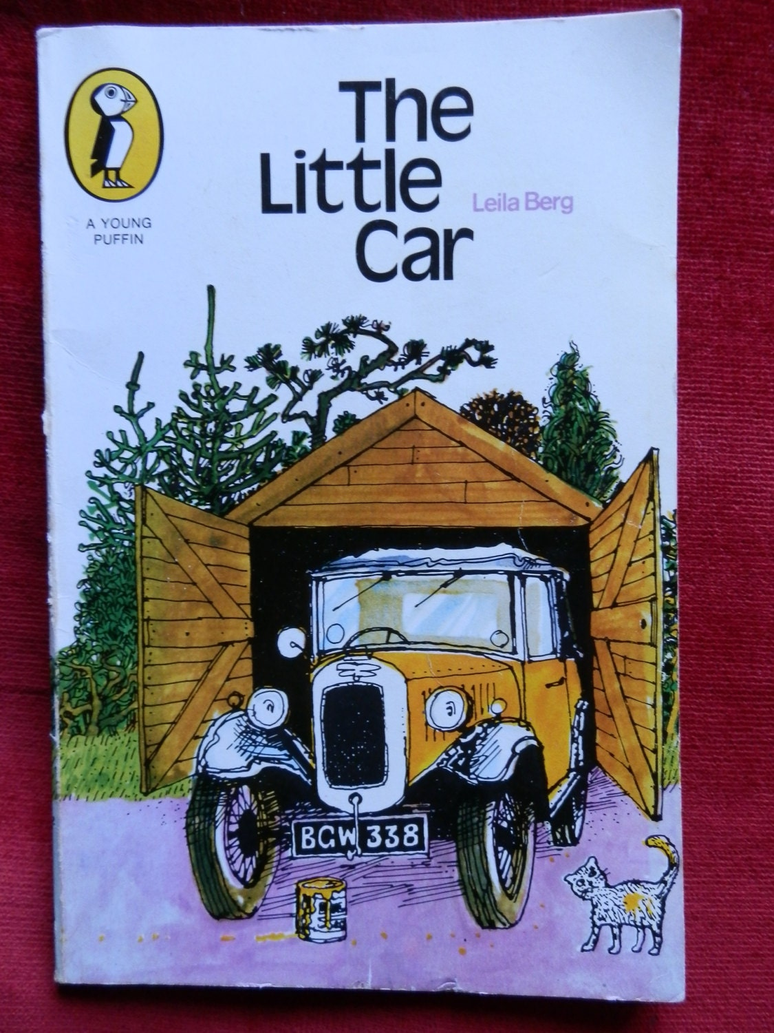 Vintage Children\'s Book: The Little Car by Leila Berg
