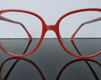 Lunettes Wayfarer rouge lunettes / lunettes femmes / Club 7 / vintage 1980 s lunettes / amendements /