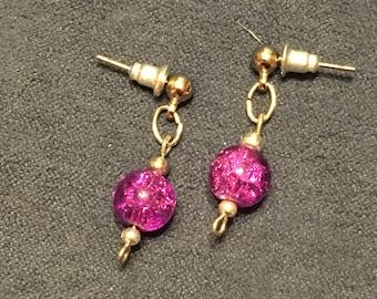 Purple Darling Earrings