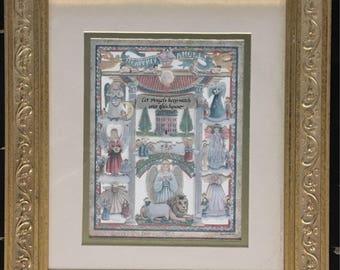 Heavenly Angels Scherenschnitte Dennis and Sharon Eavenson '93