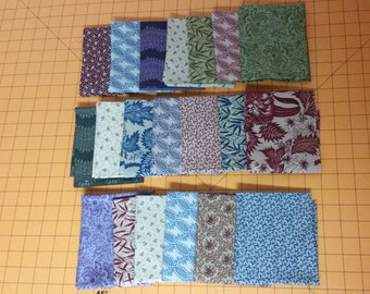 20 Fatquarters - FQ, Great for Turning 20 Quilts, Windham Reproduction Prints, Set 2