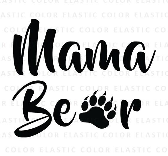 mama bear svg mama bear cut file mama bear text mama Gummy Bear Clip Art Grizzly Bear Clip Art