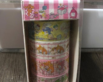 2017 Rare New Sanrio Characters washi tape set!  Wrapping paper theme!
