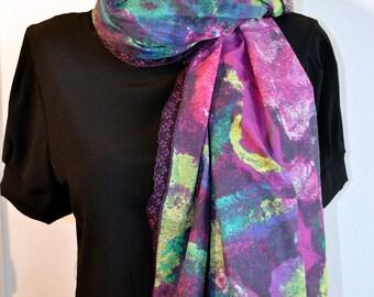 purlpe scarf