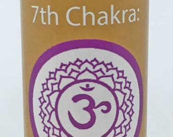 Crown Chakra Massage, Body, Bath Oil