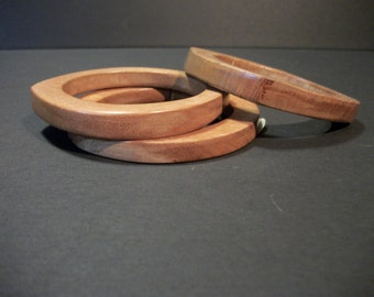 Hand-Made Wooden Bangles